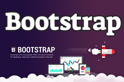 Изучение технологии Bootstrap (верстка сайта)