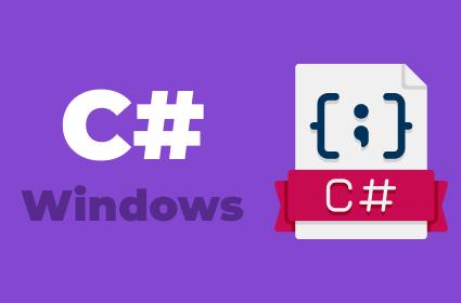 Изучение C#, ASP.NET и создание Windows программ
