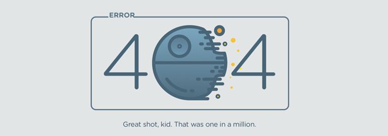 Лучшие примеры страниц ошибок 404