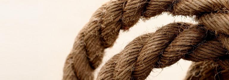 Задача с двумя веревками